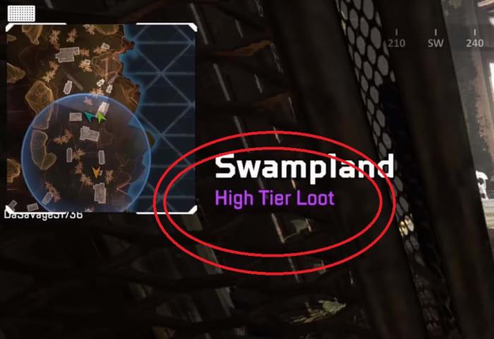 Apex Legends high-tier loot area