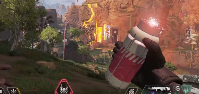 Apex Legends Bangalore Ultimate Rolling Thunder
