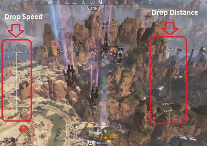 Apex Legends drop strategy