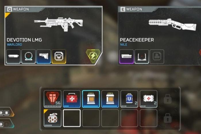 Apex Legends inventory