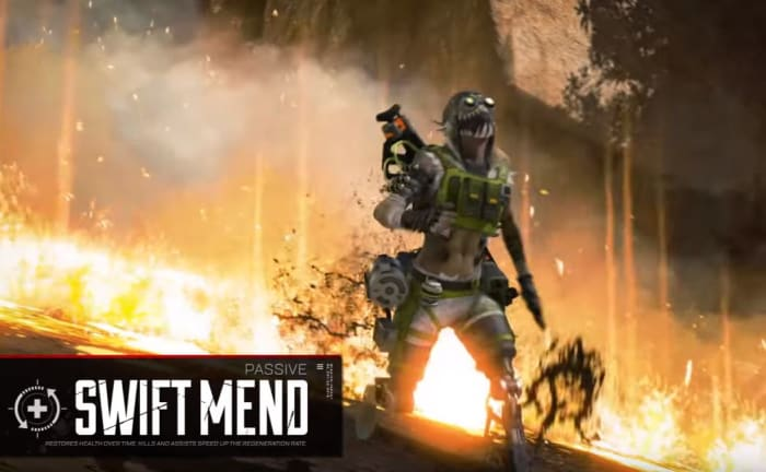 Apex Legends Octane Swift Mend passive