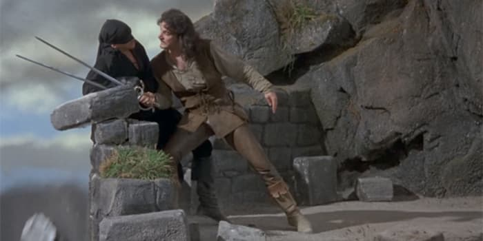 Princess Bride Inigo Westley sword fight