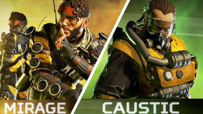 Apex Legends Mirage Caustic