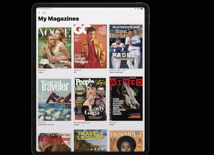 Apple News+ magazines