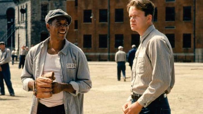 Shawshank Redemption playing catch