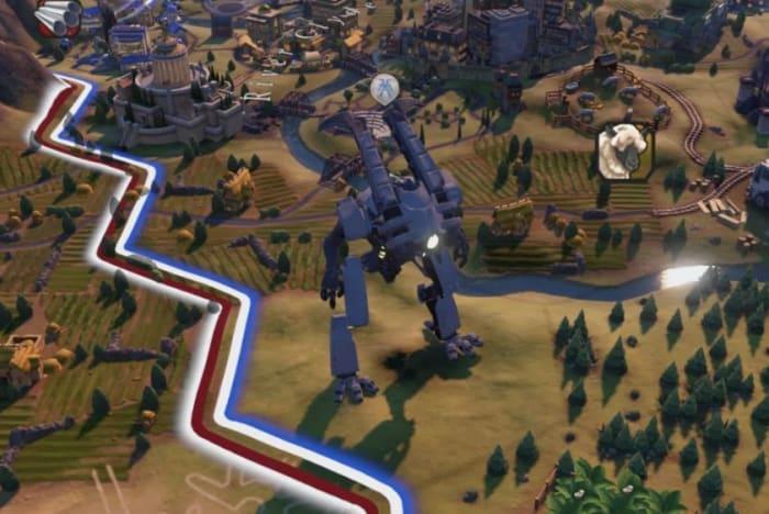 Civ 6 Gathering Storm Giant Death Robot