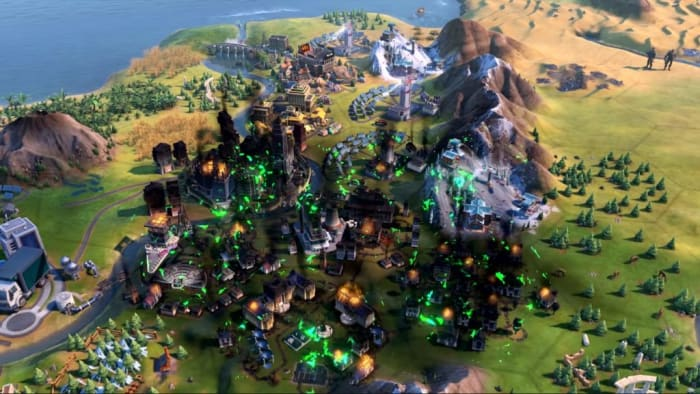 Civ 6 Gathering Storm nuclear fallout