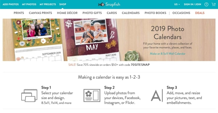 Snapfish Website