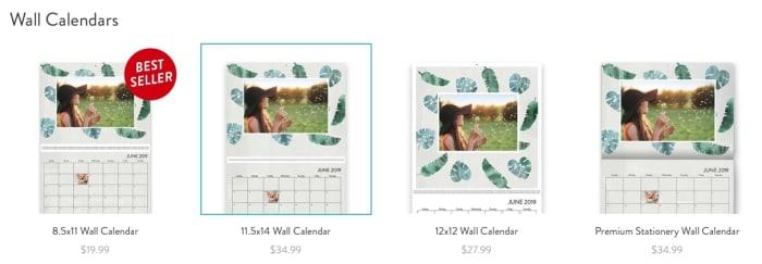 Calendar Types 1