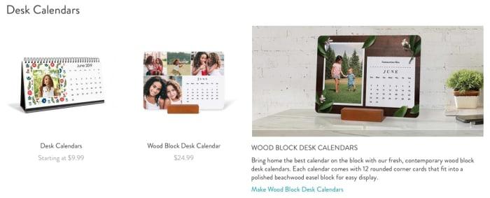 Calendar Types 2