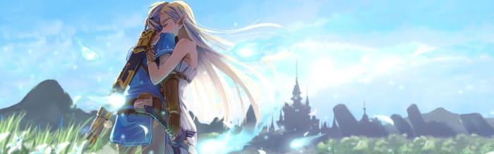 Legends of Zelda Love Interests Wallpaper