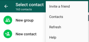 How to add a contact to WhatsApp