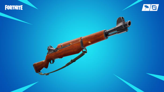 fortnite infantry rifle season 8