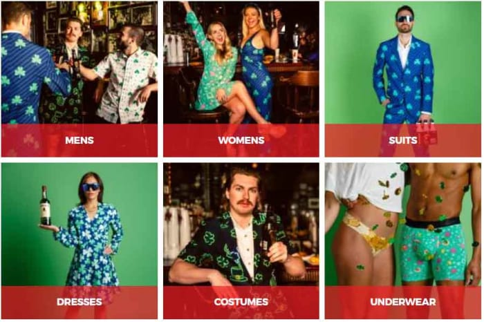 Shinesty party suits st patricks day
