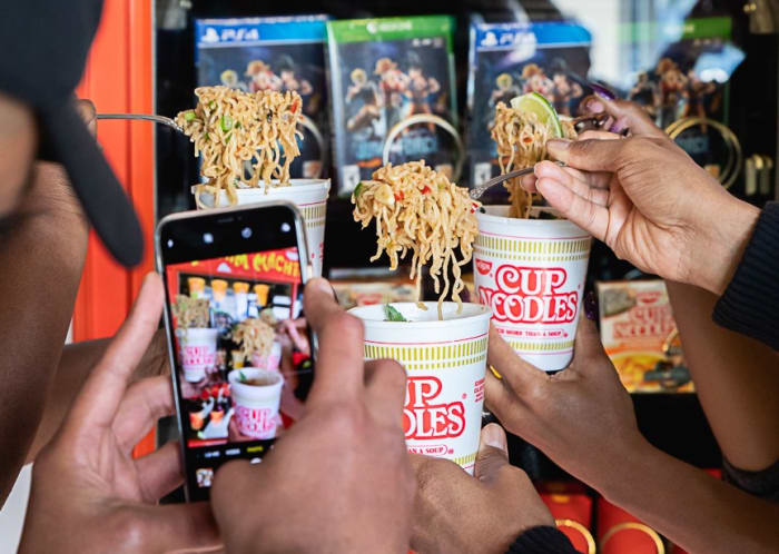 foodbeast vending machine gives noodles for selfies