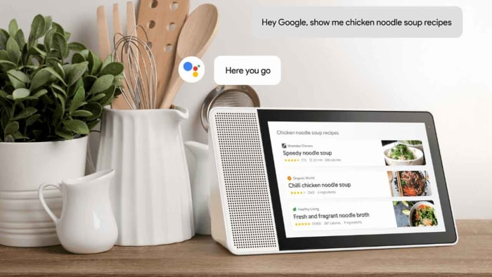 Continued Conversation on Google Assistant Smart Display