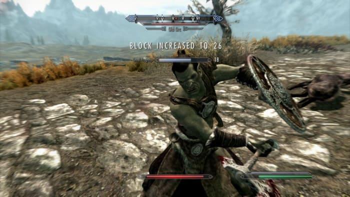 skyrim combat improvements