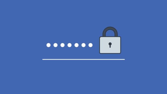 Facebook password header