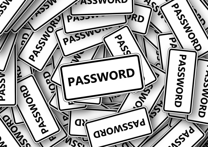 A lot of passwords
