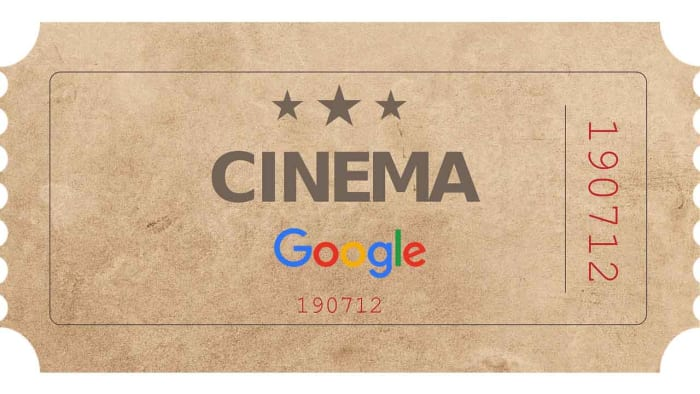 Cinema tickets by Google