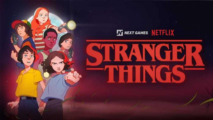 Stranger Things AR game Netflix