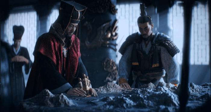 Total War: Three Kingdoms cutscene Cao Cao