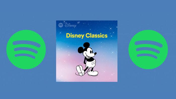 Spotify Disney hub