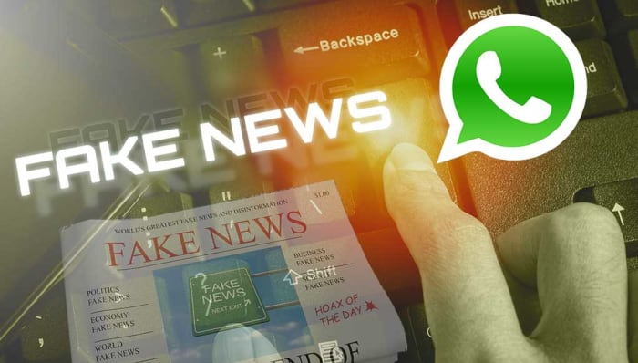 Fake newspaper whatsapp