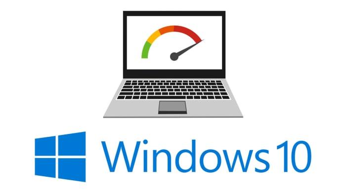 Windows 10 performance improvement settings