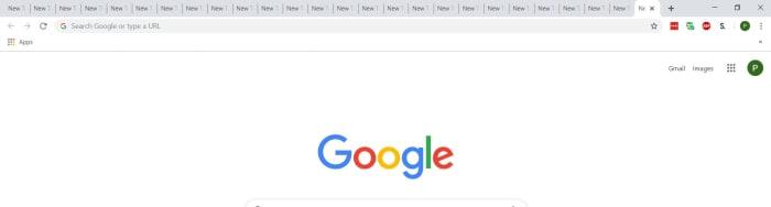 Too many Google Chrome tabs