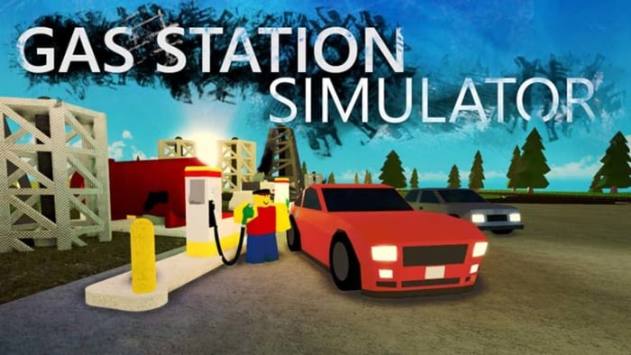 Gas station simulator