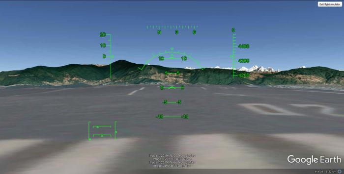 How To Control Google Earth Flight Simulator