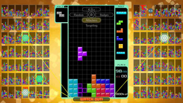 Tetris Aces on Switch