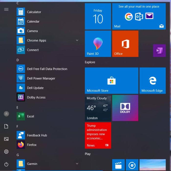 A better start menu for Windows 10