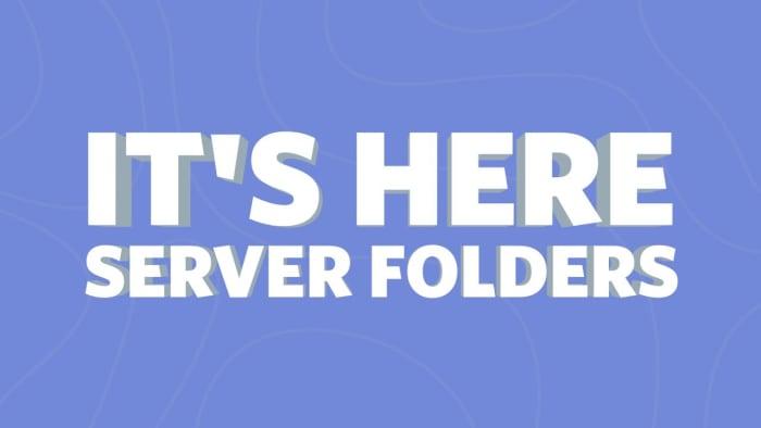 Discord Servers Folders