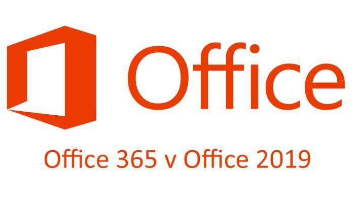 Office 365 v Office 2019