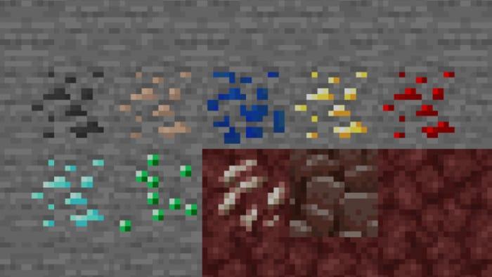 Minecraft ore