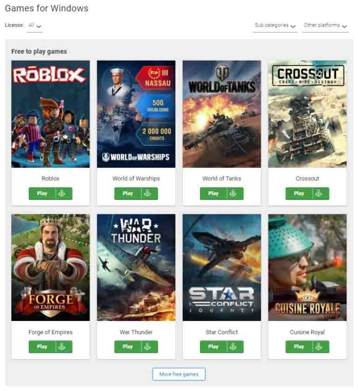Amazing free games