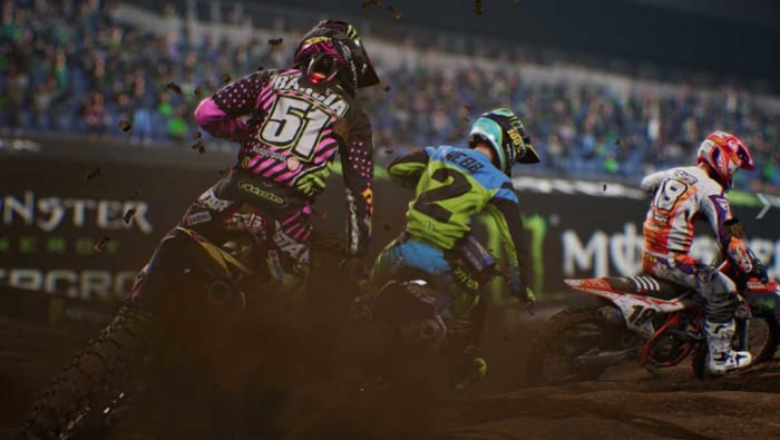 Moto Cross game