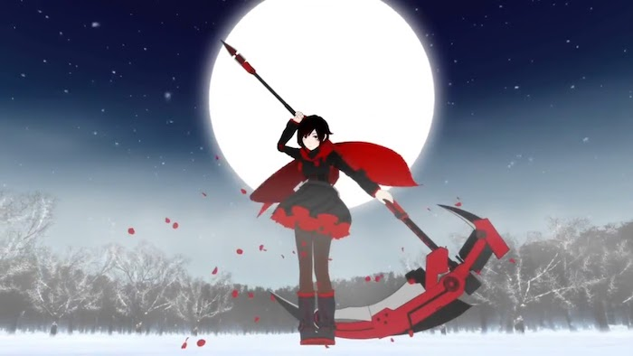 rwby crescent rose ruby rose