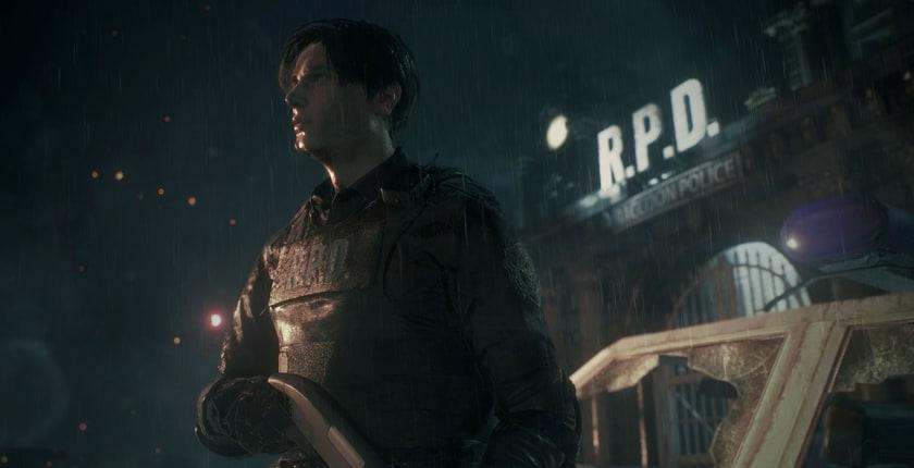 Leon Kennedy en Resident Evil 2 Remake