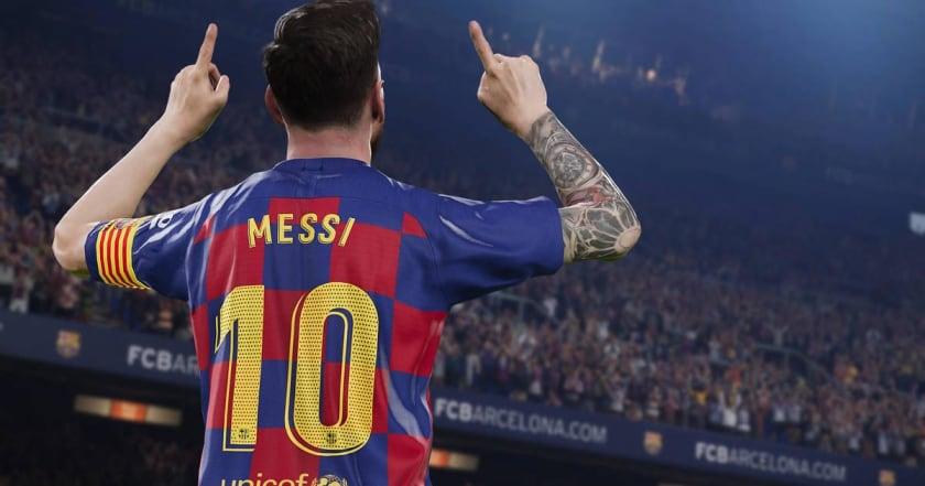 Messi en PES 2020 Lite