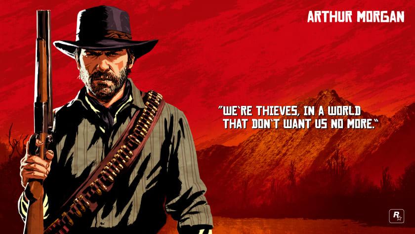 Fondo de escritorio de Red Dead Redemption 2