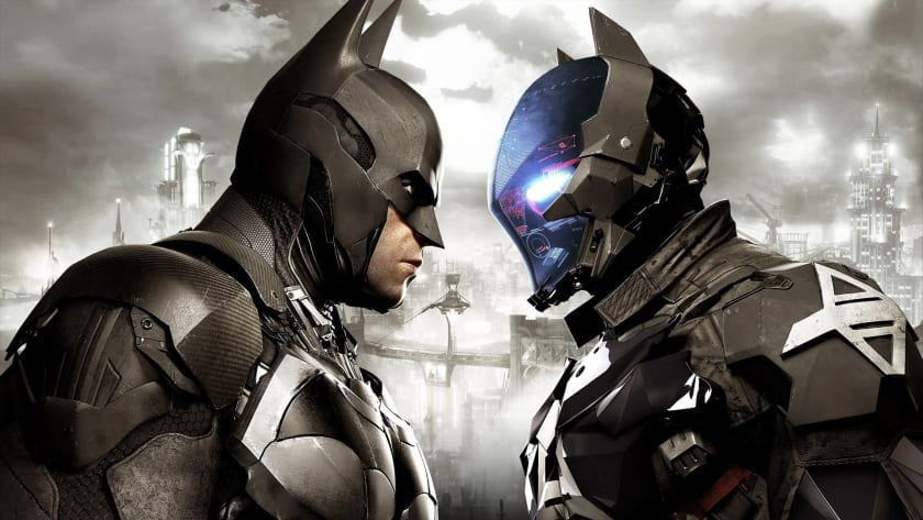 Batman y Arkham Knight cara a cara