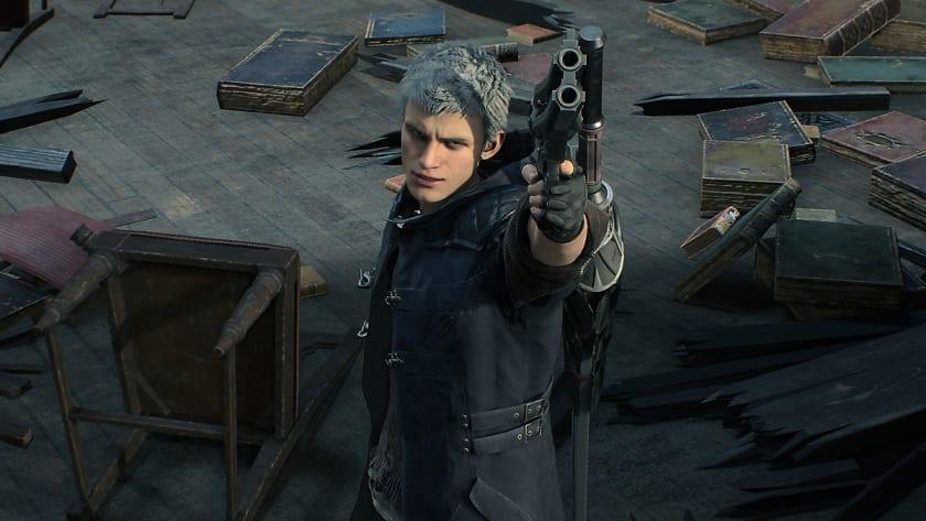 Nero en Devil May Cry 5