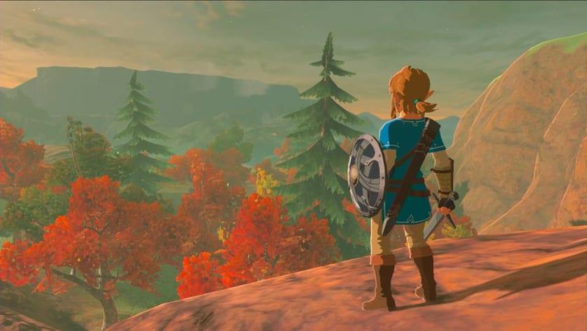 Link en The Legend of Zelda: Breath of the Wild