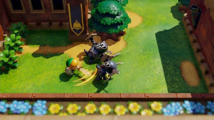 Combates en The Legend of Zelda: Link's Awakening