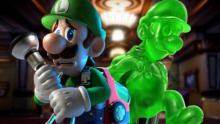 Luigi y Gooigi en Luigi's Mansion 3