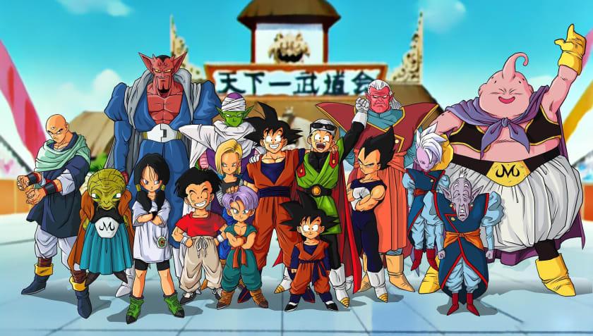 Fondo de escritorio Dragon Ball Z