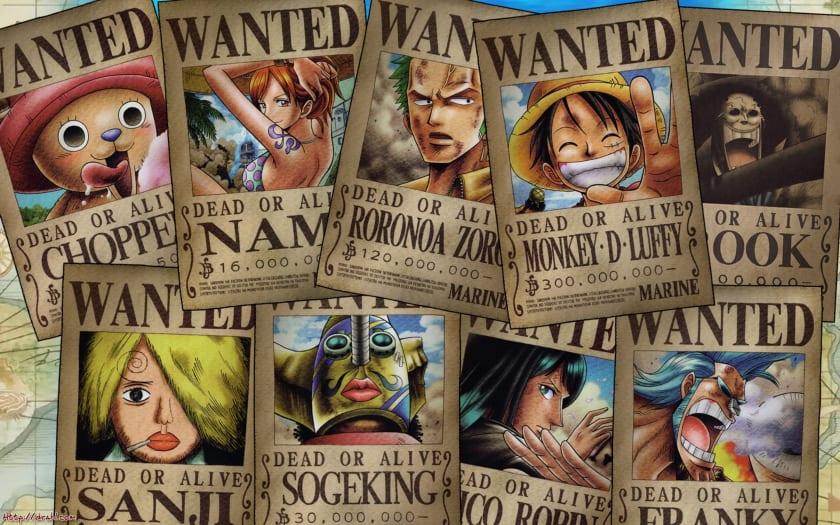 Fondo de escritorio One Piece